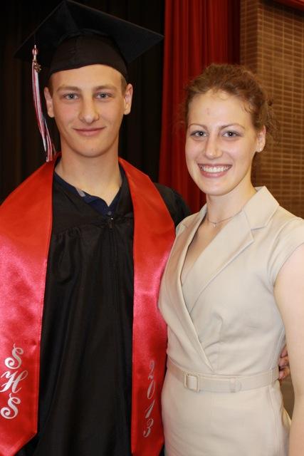 BGDL.org Candace at Graduation
