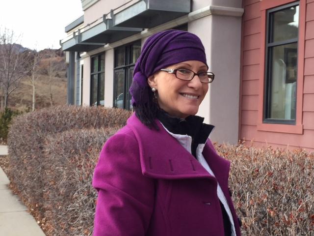 Pashmina Head Wrap for Alopecia Style
