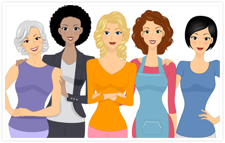 Women with Alopecia Wigs
