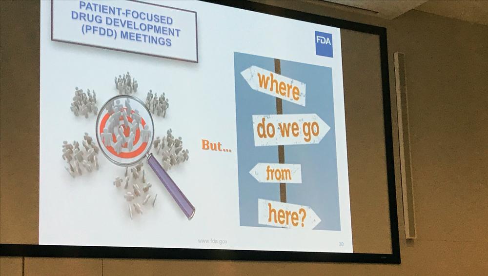 Patient-focused Drug Development Meetings