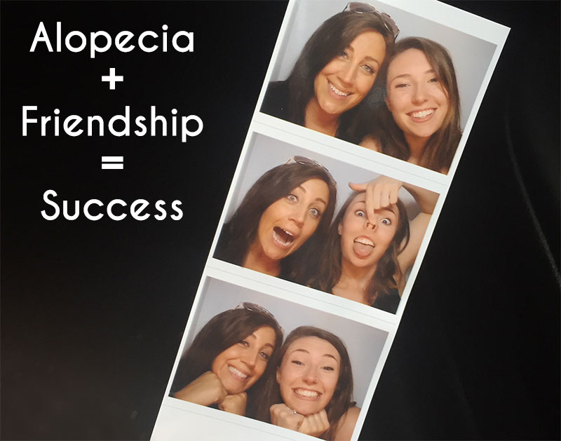 Alopecia Areata Support blog talks about friendship